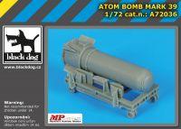 A72036 1/72 Atom bomb Mark 39 Blackdog
