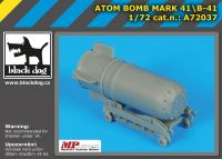 A72037 1/72Atom bomb Mark 4/B-41