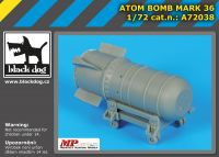 A72038 1/72 Atom bomb Mark 36