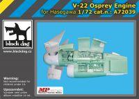 A72039 1/72 V-22 Osprey engine Blackdog