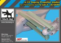 A72040 1/72 V-22 Osprey propeller blades