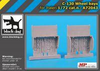 A72043 1/72 C-130 wheel bays