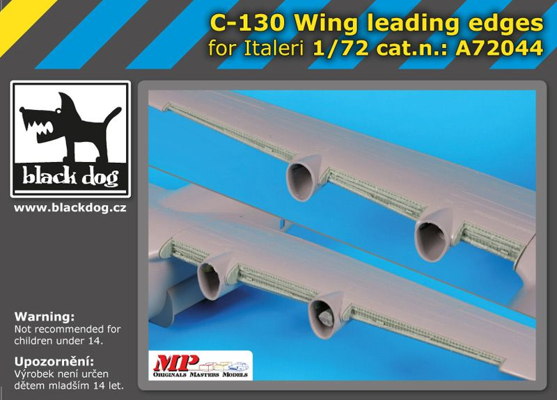A72044 1/72 C-130 wing leading edges Blackdog