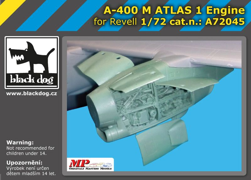 A72045 1/72 A-400 M Atlas 1 engine Blackdog
