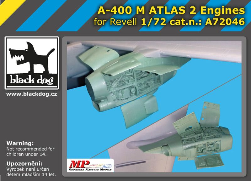 A72046 1/72 A-400 M Atlas 2 engines Blackdog