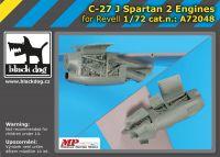A72048 1/72 C-27 J Spartan 2 engines