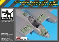 A72050 1/72 De Havilland Mosquito Mk VI set N°1