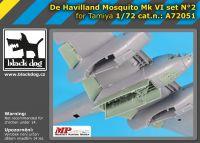 A72051 1/72 De Havilland Mosquito Mk VI set N°2