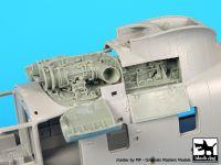A72054 1/72 Sea King AEW 2 Engine Blackdog