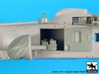 A72055 1/72 Sea King AEW 2 radar+electronics Blackdog