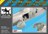 A72055 1/72 Sea King AEW 2 radar+electronics