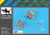 A72057 1/72 B-26 K Counter Invader detail set Blackdog