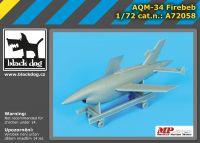 A72058 1/72 AQM -34 Frebeb Blackdog
