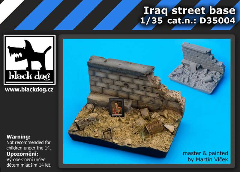 D35004 Iraq street base Blackdog