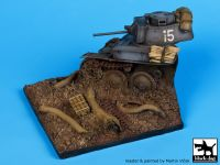 D35007 1/35 Destroyed Pz.Kpfw 38 base Blackdog