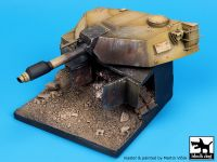 D35009 1/35 Destroyed M1A1 Abrams base Blackdog