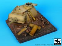 D35013 1/35 Panther turret base Blackdog