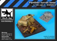 D35013 1/35 Panther turret base