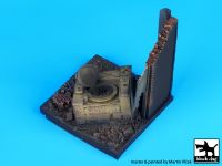 D35020 1/35 Destroyed field kitchen base Blackdog