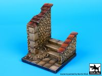 D35022 1/35 Stairs base (55x55 mm) Blackdog