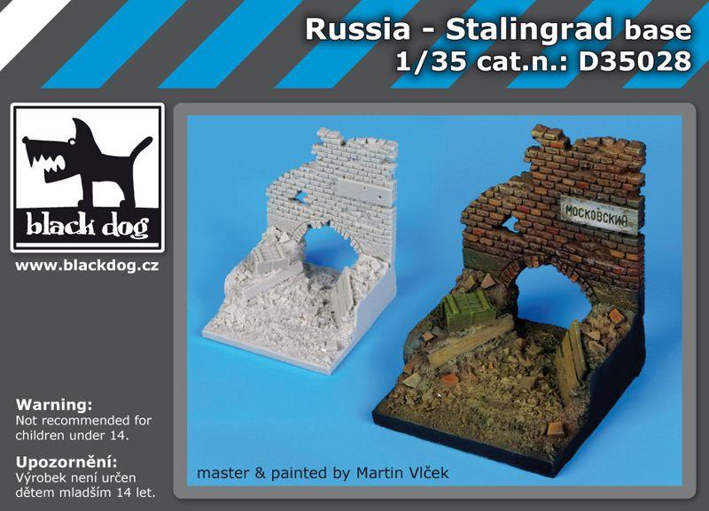 D35028 1/35 Russia-Stalingrad base Blackdog