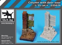 D35029 1/35 Column with door base