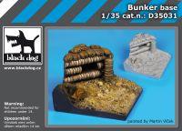 D35031 1/35 Bunker base