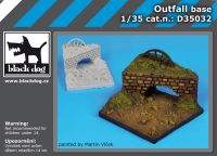 D35032 1/35 Outfall base