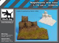 D35036 1/35 Napoleonic war base