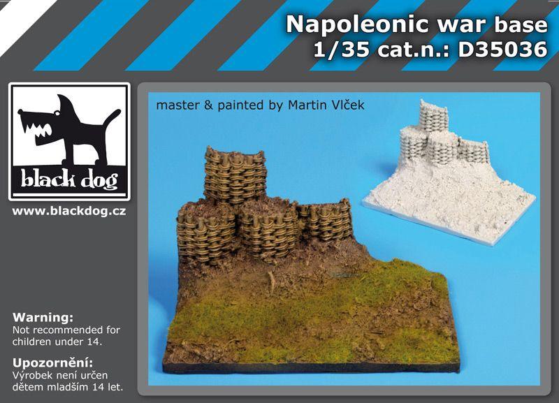 D35036 1/35 Napoleonic war base Blackdog