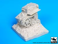 D35037 1/35 Destroyed Pz Kpfw IV base Blackdog