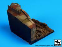 D35041 1/35 Destroyed Sd Kfz 250 base Blackdog