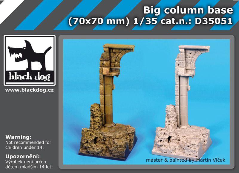 D35051 1/35 Big column base Blackdog