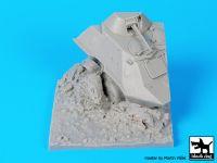D35054 1/35 Destroyed BTR 60 base Blackdog