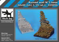D35056 1/35 Ruined wall N