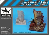 D35057 1/35 House corner base N