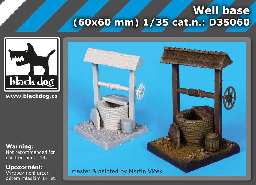 D35060 1/35 Well base Blackdog
