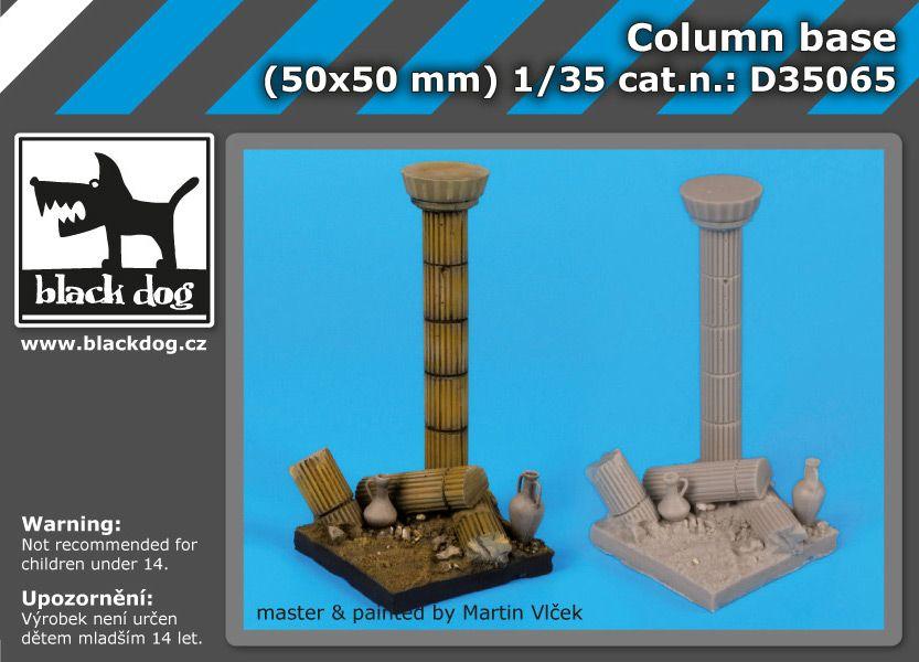 D35065 1/35 Column base Blackdog
