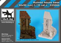 D35066 1/35 Ruined house base Blackdog