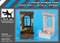 D35067 1/35 House window base