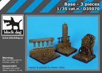 D35070 1/35 Base 3 pieces