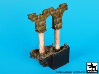 D35077 1/35 Columns N°2 base Blackdog