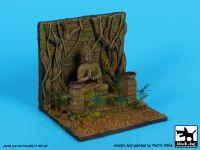 D35082 1/35 Buddha statue base Blackdog