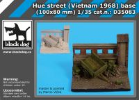 D35083 1/35 Hue street (Vietnam 1968) base Blackdog
