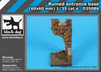 D35086 Ruined entrance base