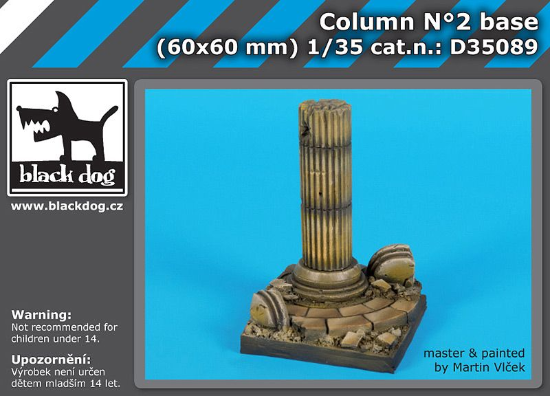 D35089 1/35 Column N°2 base Blackdog