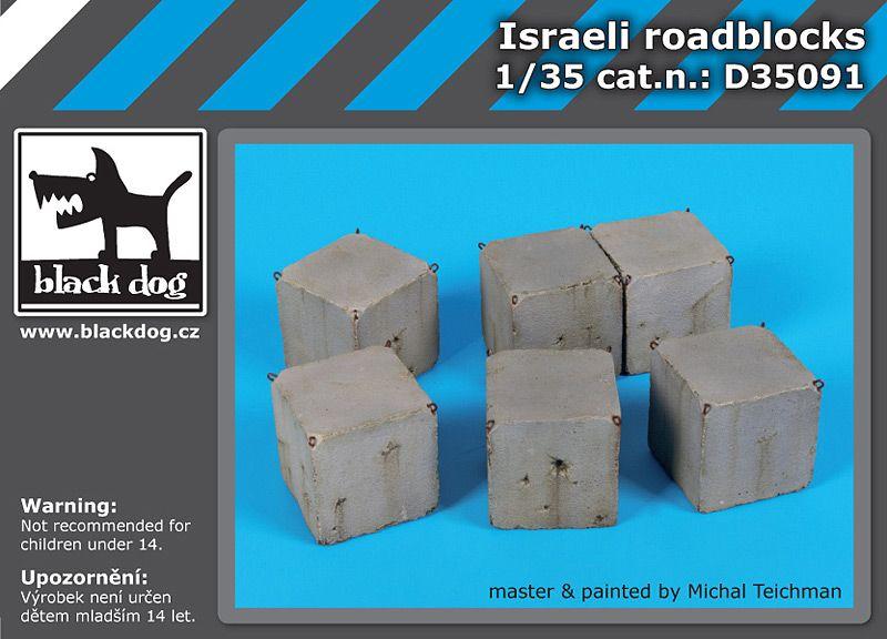 D35091 1/35 Israeli roadblocks Blackdog