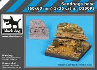 D35093 1/35 Sandbags base