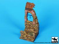 D35103 135 House ruin Italy 1944 base Blackdog