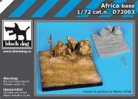D72003 1/72 Africa base Blackdog